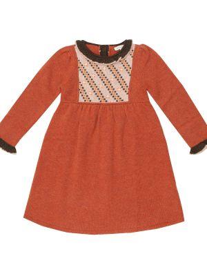 Шерстяное платье Caramel