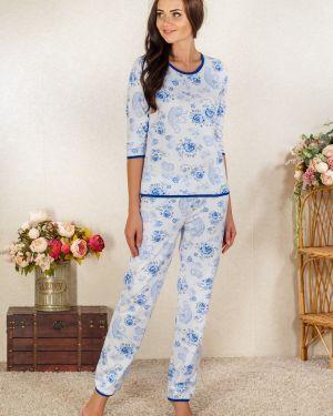 Пижама из футера с начесом Lena Basco