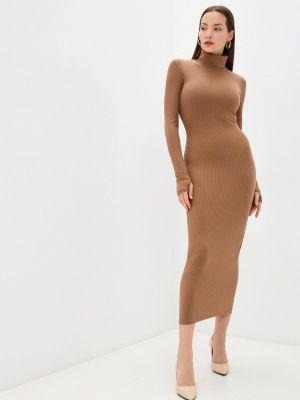 Вязаное платье - бежевое Trendyangel