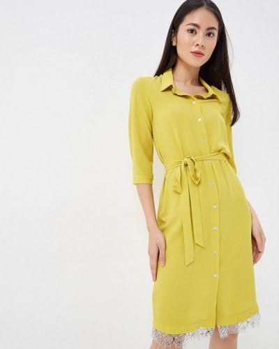Платье платье-рубашка желтый Vittoria Vicci