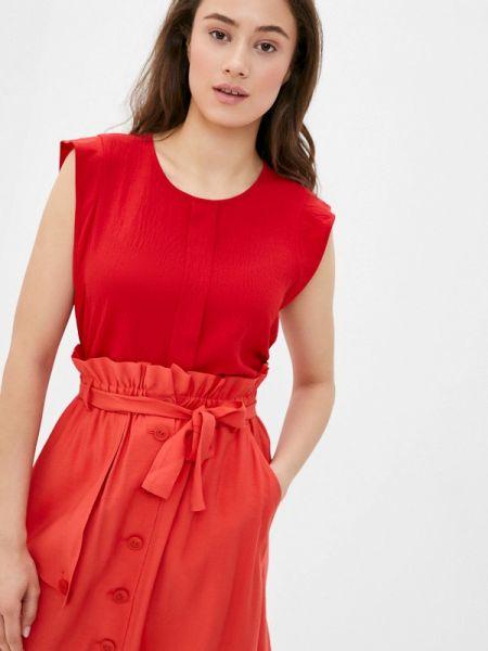 Блузка без рукавов весенний красная Remix