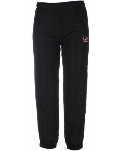 Czarne spodnie z siateczką La Gear