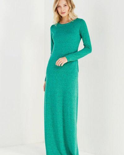 Платье осеннее зеленый Sk-house