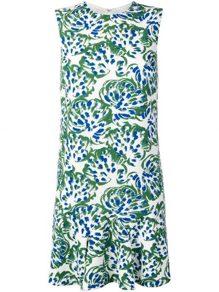 Платье трапеция с оборками Victoria, Victoria Beckham