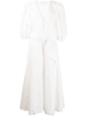 Biała sukienka bawełniana Sachin & Babi