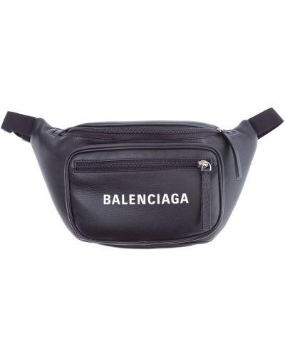 Поясная сумка кожаный текстильная Balenciaga