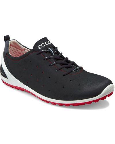 Кроссовки черные мягкие Ecco
