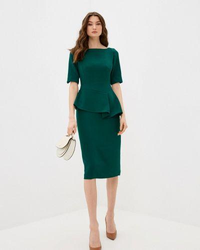 Зеленое платье-футляр Ted Baker London