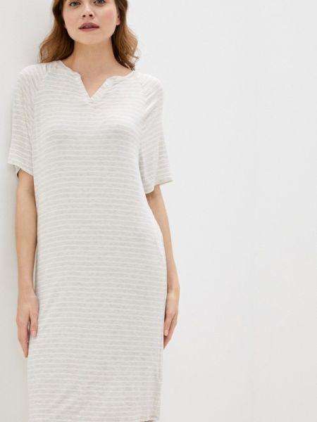 Платье бежевое весеннее Marks & Spencer