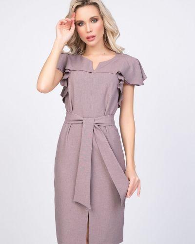 Прямое нарядное платье с оборками Diolche