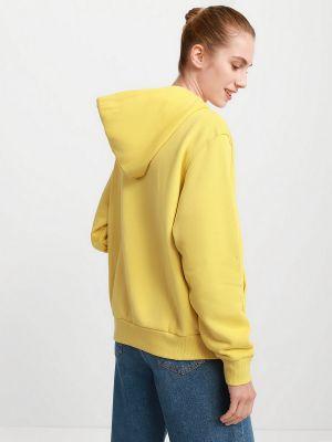 Флисовое худи - желтое Converse