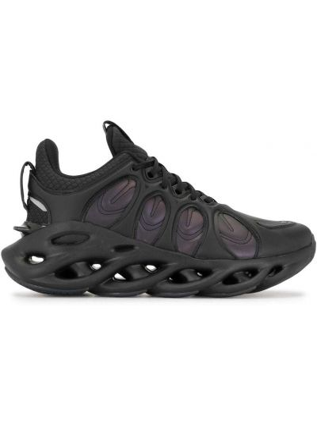 Кожаные кроссовки - черные Li-ning