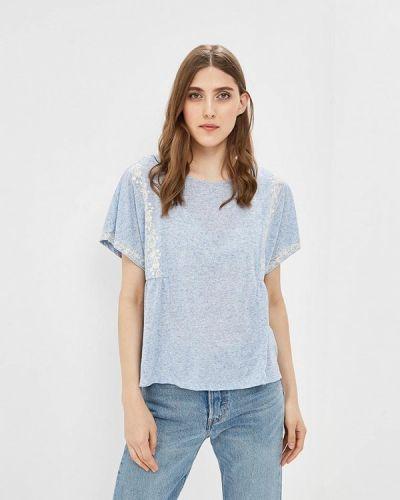 Голубая футболка Sela
