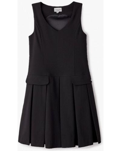 Свободное расклешенное повседневное черное платье Finn Flare