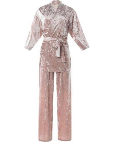 Бархатный костюм - розовый Kaftan