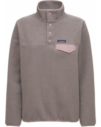 Коричневые брюки с логотипом Patagonia