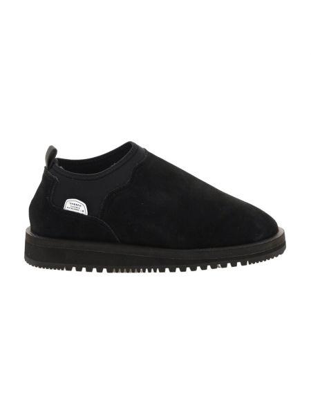 Buty sportowe zamszowe - czarne Suicoke