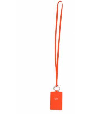 Оранжевый кошелек Acne Studios