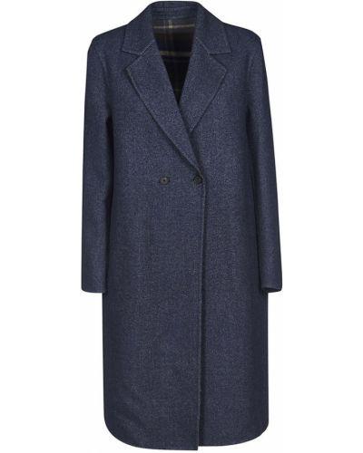 Niebieski płaszcz Fabiana Filippi