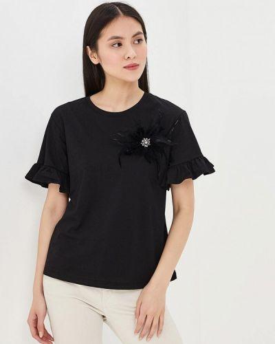 Черная футболка Sweewe