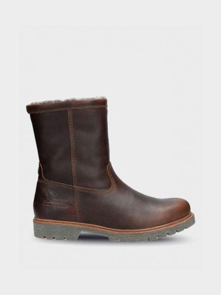 Кожаные сапоги - коричневые Panama Jack
