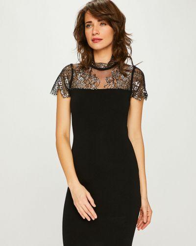 Платье мини с вырезом из вискозы Morgan