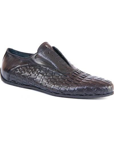 Черные кроссовки Cesare Paciotti