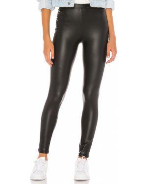 Spodnie z wysokim stanem ciepły elastyczne Plush