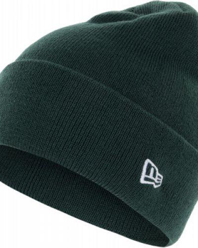Акриловая зеленая спортивная шапка New Era