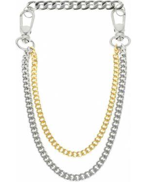 Złoty broszka ze srebra Maison Margiela