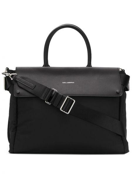 Сумка-тоут на плечо с ручками Karl Lagerfeld