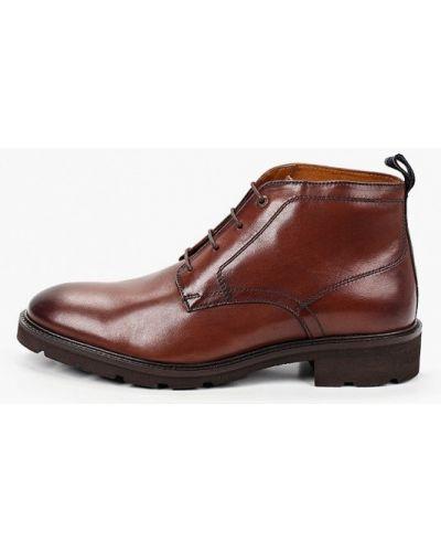 Коричневые кожаные ботинки Salamander