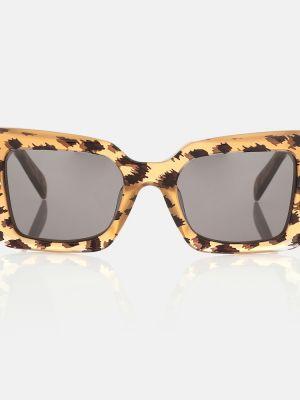 Солнцезащитные очки - коричневые Celine Eyewear