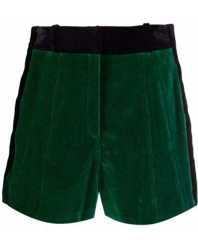 Zielony garnitur bawełniany Paco Rabanne