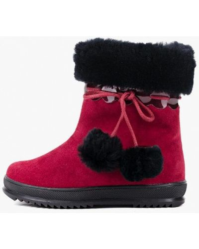 Ботинки красные Miracle Me