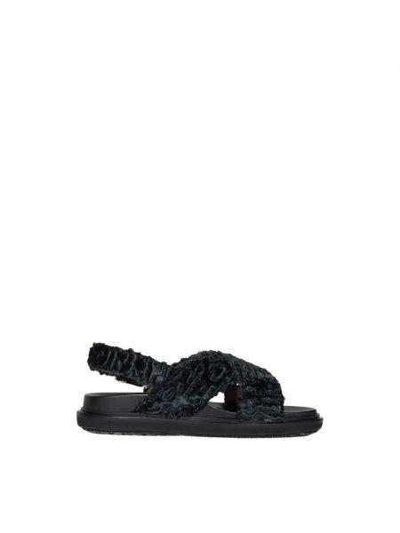 Zielone sandały Marni