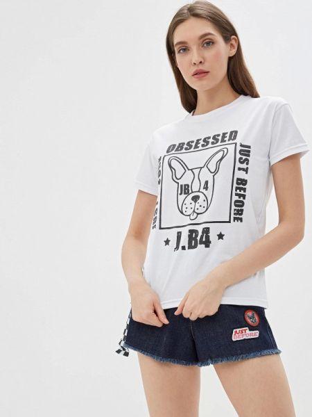 Футбольная белая футболка J.b4