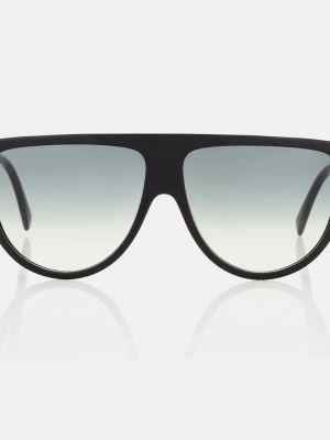 Солнцезащитные очки классические - черные Celine Eyewear