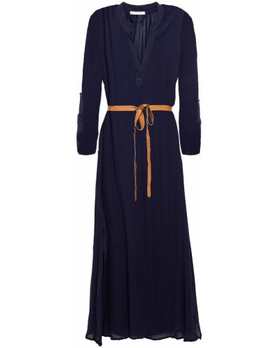 Niebieska sukienka plażowa bawełniana Eberjey