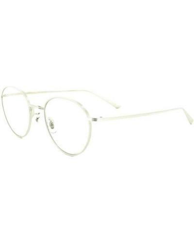 Beżowe okulary Oliver Peoples