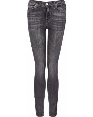 Джинсы-скинни серые Tommy Jeans