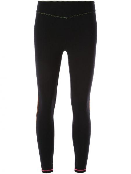 Черные брюки с поясом Sàpopa