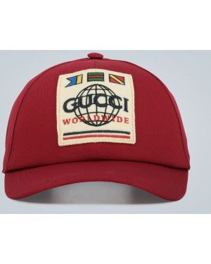 Szeroki kapelusz poczuł brezentowy Gucci