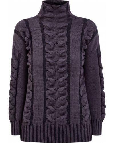 Кашемировый свитер - коричневый Lorena Antoniazzi