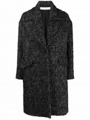 Пальто оверсайз - черное Iro