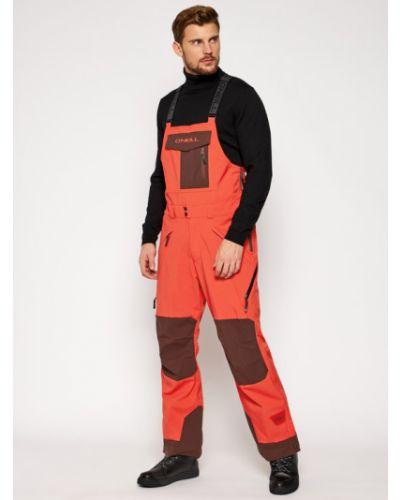 Spodnie - pomarańczowe O'neill