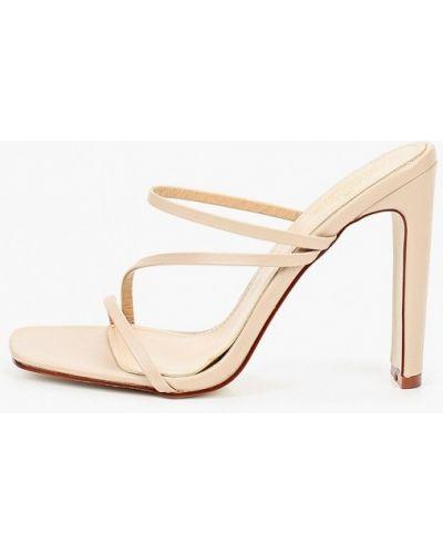 Кожаные сабо - бежевые Diora.rim