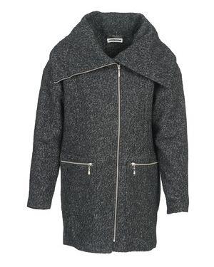 Szary płaszcz przeciwdeszczowy Noisy May