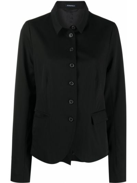 Шерстяной пиджак - черный Rundholz