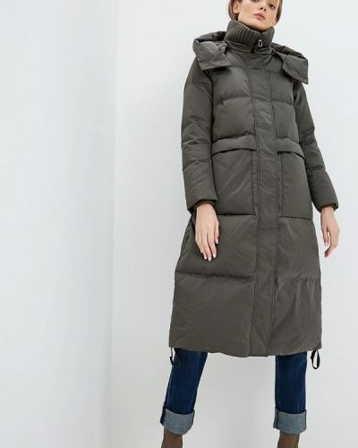 Зимняя куртка осенняя зеленая Duno